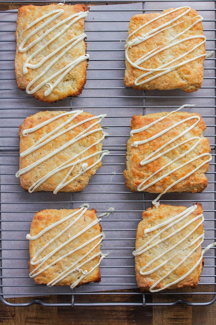 Lavender White Chocolate Scones | The Chef Next Door