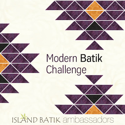 Modern batik quilts with Island Batik