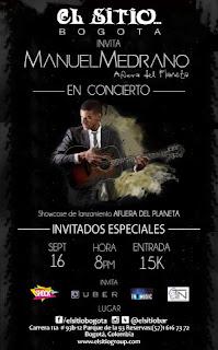 Concierto de Manuel Medrano