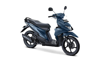 Suzuki Nex II Mat Stellar Blue