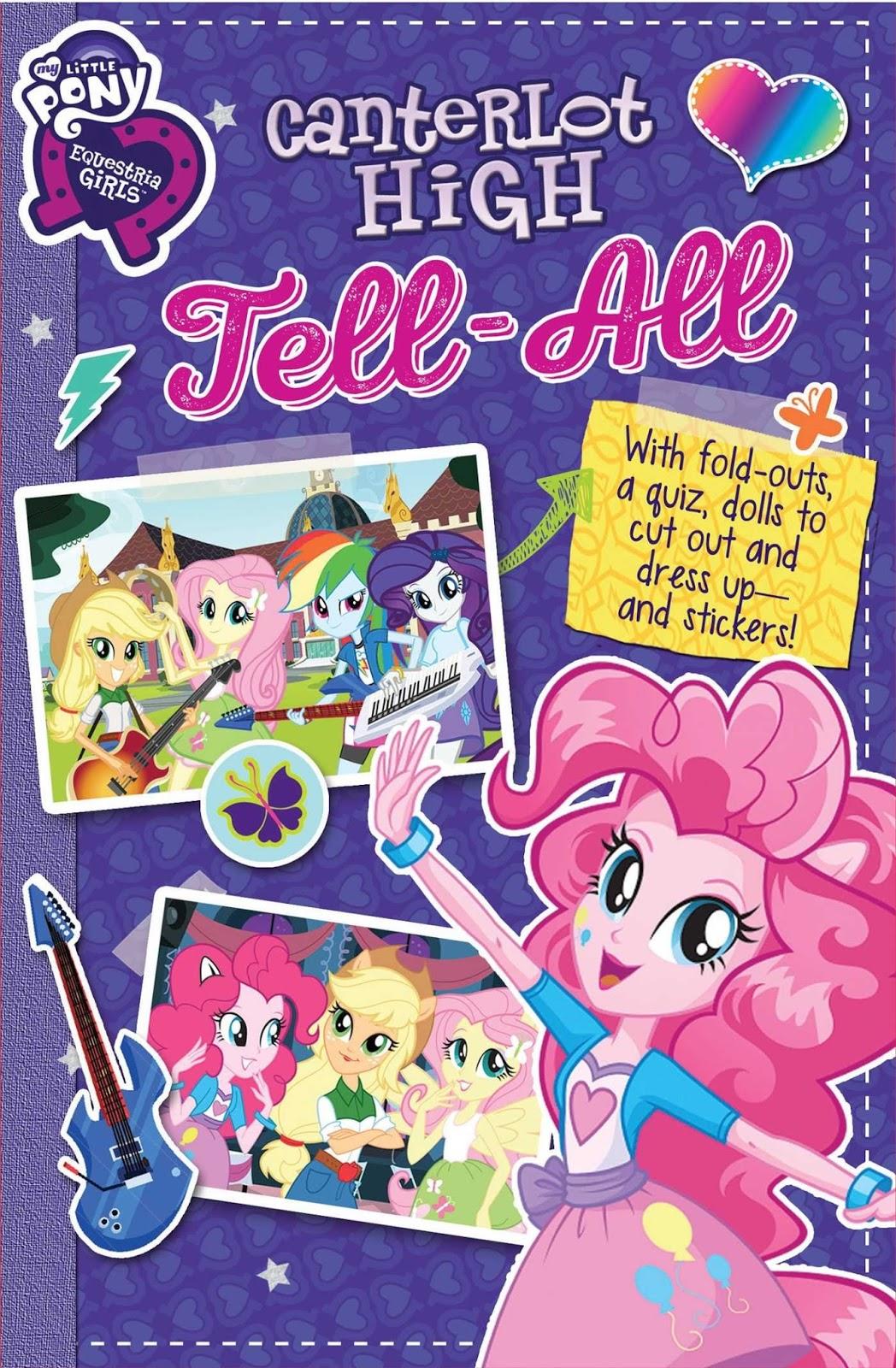 MLP Equestria Girls: Canterlot High Tell-All Book