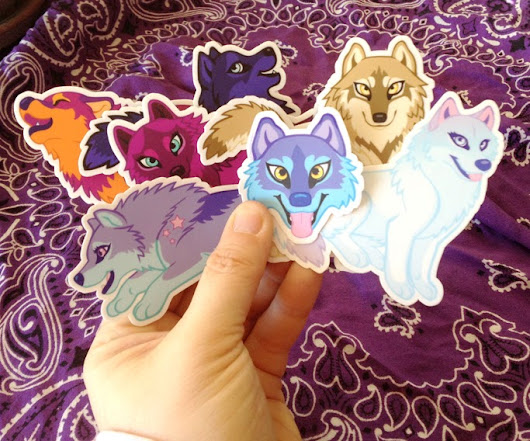 Wuffies Stickers!