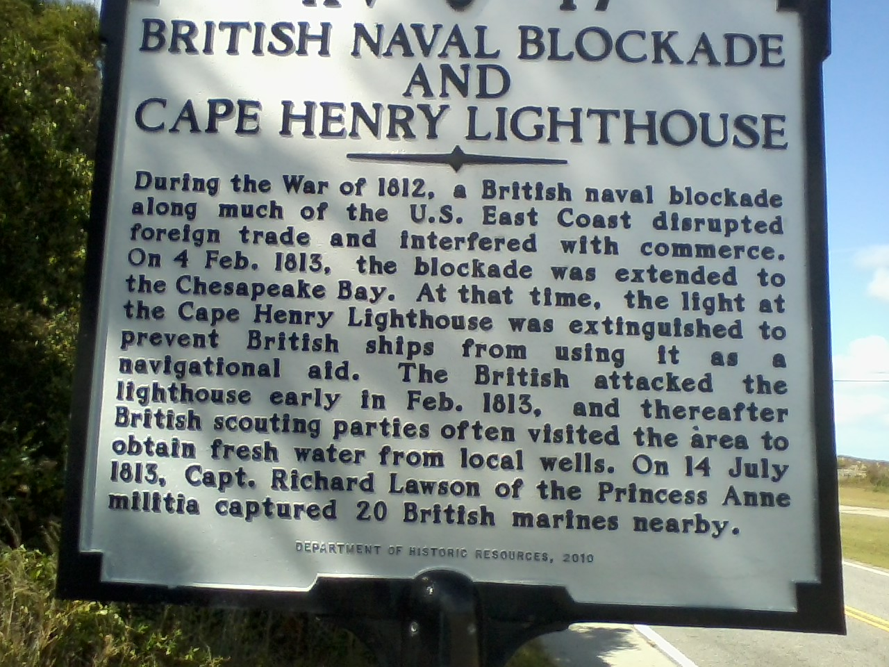 Information You Can Use Cape Henry