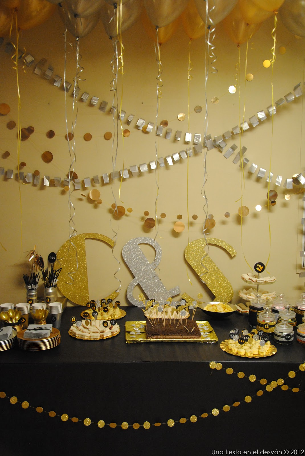 Una fiesta en el desván: Cumpleaños Silver & Gold. Fiesta Disco