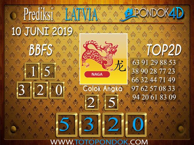 Prediksi Togel LATVIA PONDOK4D 10 JUNI 2019