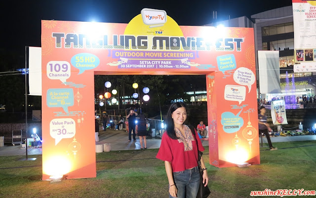 HyppTV First Ever Mid-Autumn Tanglung Movie Fest Outdoor Screening