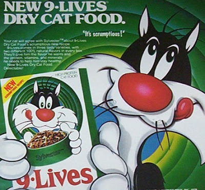 Lives Cat Food Sylvester The Cat