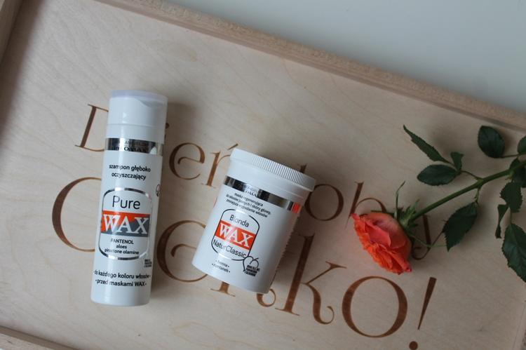 Szampon Pure Wax i Maska Blonda Wax Pilomax
