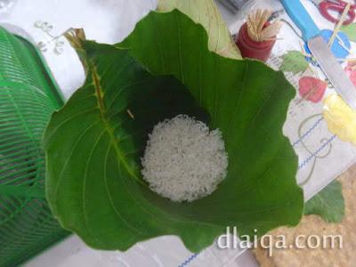 isi dengan beras