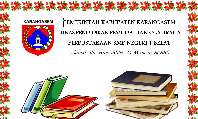 Contoh Bentuk Format Program Perpustakaan SMP pada Administrasi Perpustakaan Sekolah (Template Siap Edit - Print)