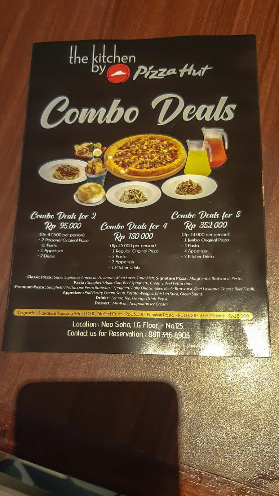 New Menu From Pizza Hut At Neo Soho Mall