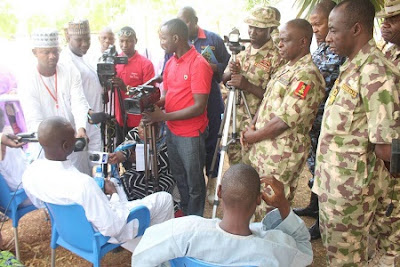 PHOTOS: 2 Boko Haram Commanders & Doctor Surrender