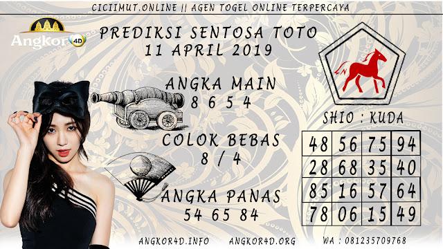 Prediksi Angka Jitu SENTOSA TOTO 11 APRIL 2019