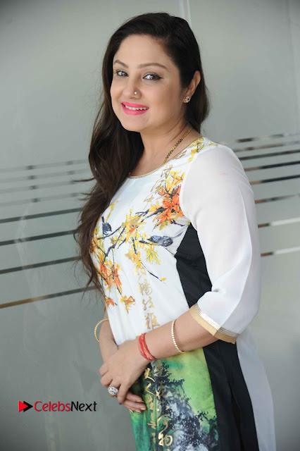Actress Priyanka Trivedi (Upendra) Pos at Shuddhi Kannada Movie Press Meet  0004.jpg