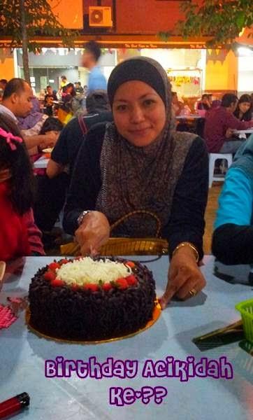 Birthday Acikidah Ke-??