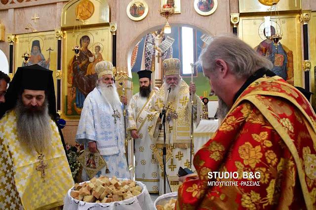 Μήνυμα απάντηση από τον Αρχιεπίσκοπο Ιερώνυμο στο Ναύπλιο για τις διακρίσεις