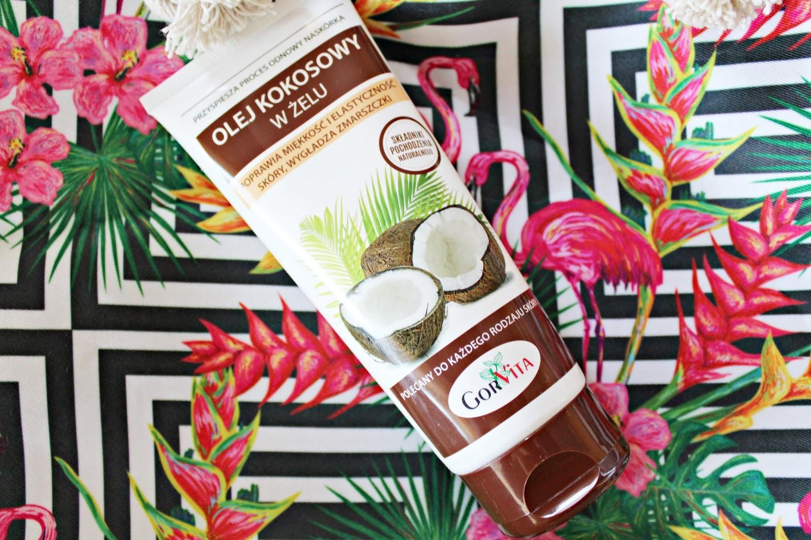 Olej kokosowy w żelu - GORVITA