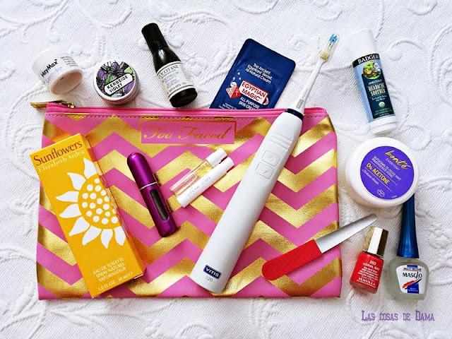 vacaciones básicos verano maleta travel size neceser sunprotect beauty verano playa