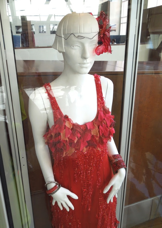 Great Gatsby red dress