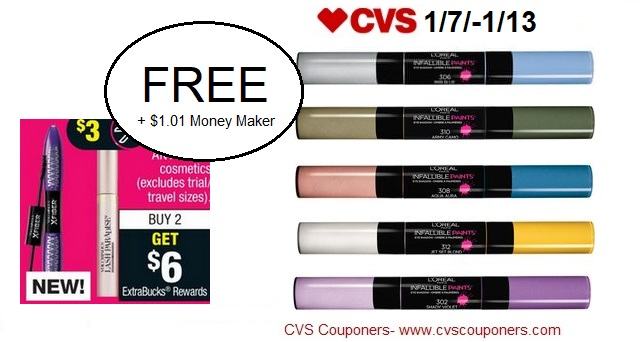 http://www.cvscouponers.com/2018/01/free-101-money-maker-for-loreal.html