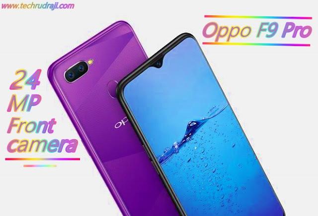best smartphone under 25,000- oppo f9 pro
