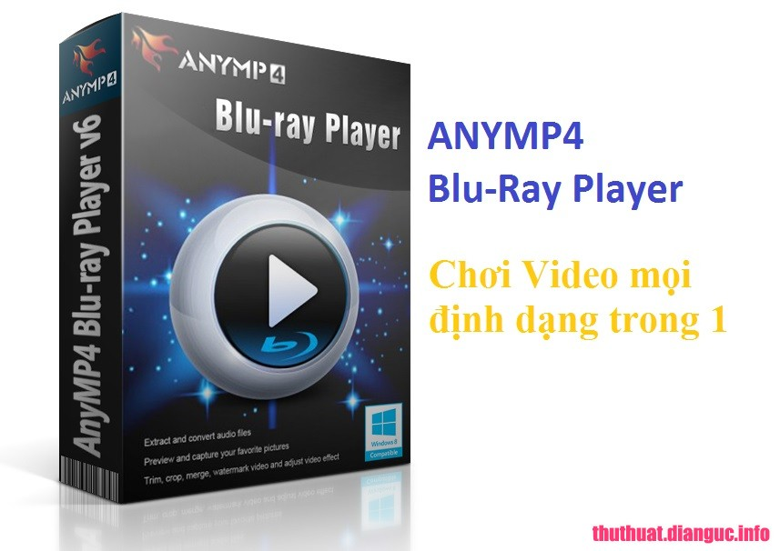 Download AnyMP4 Blu-Ray Player 6.3.22 Full Cr@ck - Nghe nhac xem video Bluray 4k