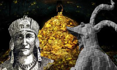 Francisco Pizarro y el Inca Atahualpa, dos personajes de leyenda.