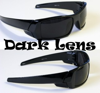 a60ca2a546d ASAK-TIA BIKER ACCESSORIES SALE  S6 - MEN DARK LENS GANGSTER BLACK OG  SUNGLASSES LOCS BIKER BLACK WRAP AROUND SHADE