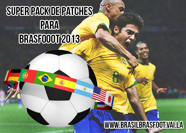 pack de patches brasfoot 2013
