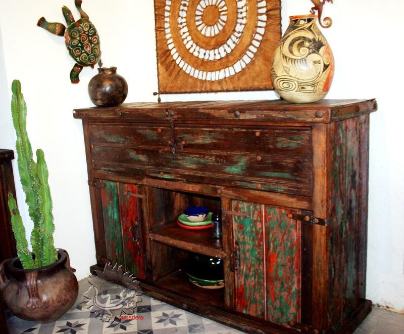 Amadera Meuble Et Decoration Le Charme Ethique Du Mexique