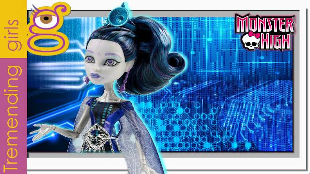 Muñeca Monster High Elle Eedee Boo York - Monstruo York  ( unboxing )