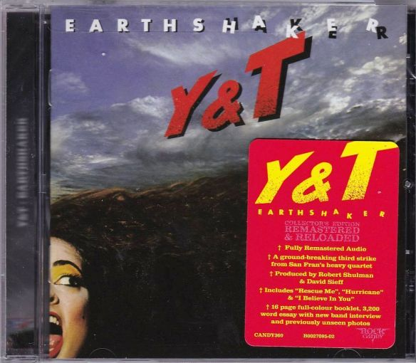 Y&T - Earthshaker [Rock Candy remastered] (2018) full