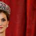 La reina Letizia lució la Tiara de Lis en la visita de Mauricio Macri