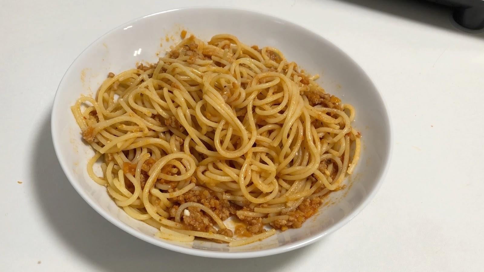 Yiya En La Cocina Espaguetis Boloñesa En Monsieur Cuisine