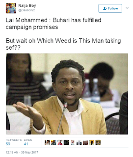 Nigerians Reacts To Lai Mohammed's Statement, Saying Buhari's Administration Has Fulfilled It's Campaign Promises