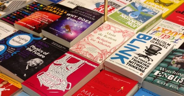 Books on a stall