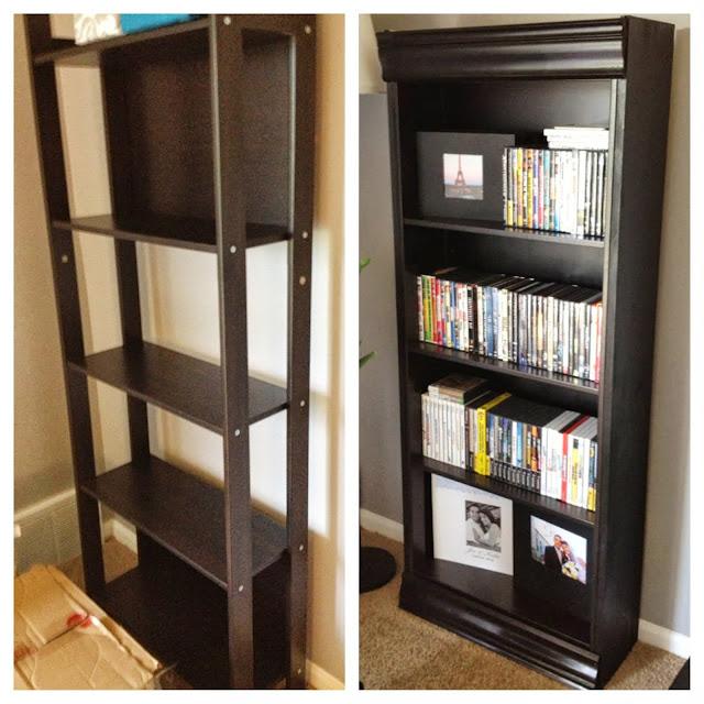 Laiva Bookcase Turned Fancy Ikea Hackers Ikea Hackers