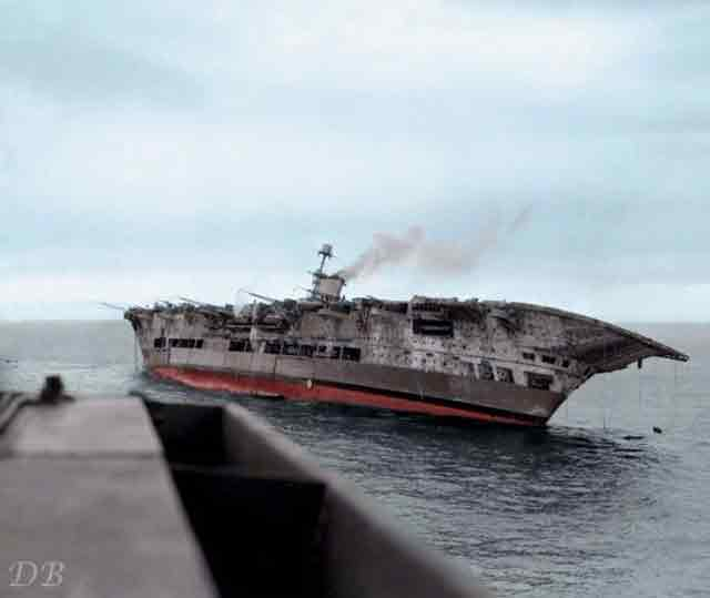 HMS Ark Royal sinking in the Mediterranean, 14 November 1941 worldwartwo.filminspector.com