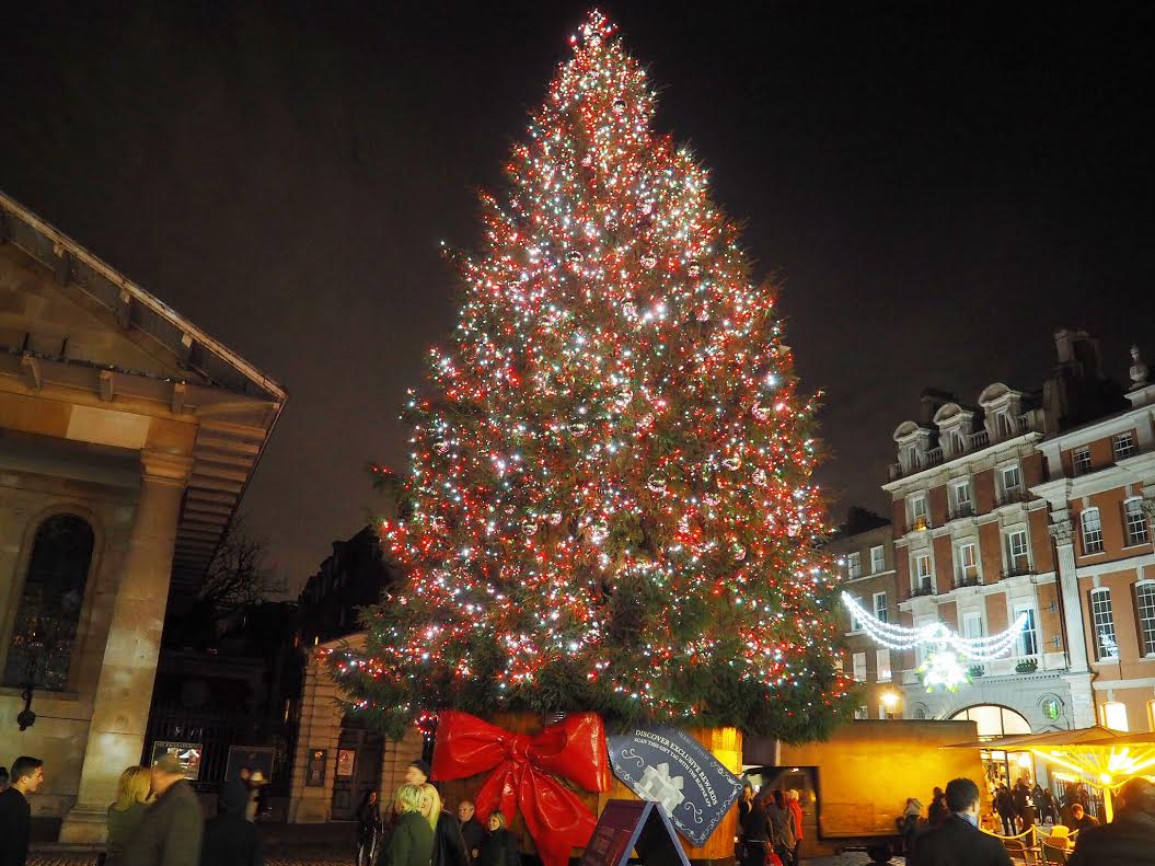 Covent Garden Christmas tree
