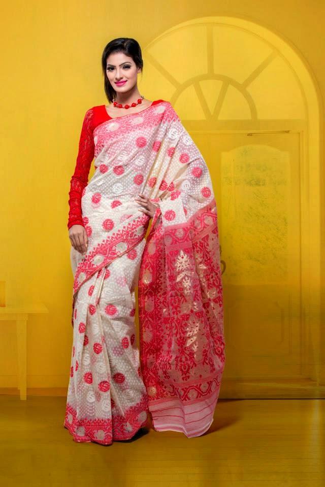 d93542e0ca Grab your Desire Exclusive Tangail Jamdani Saree From Here Shajh Bangladeshi  Sarees Contact : +8801951106009 (Bangladesh) E- mail :  shajhbdsaree@gmail.com