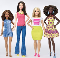Nova Coleção Barbies Fashionistas 2016