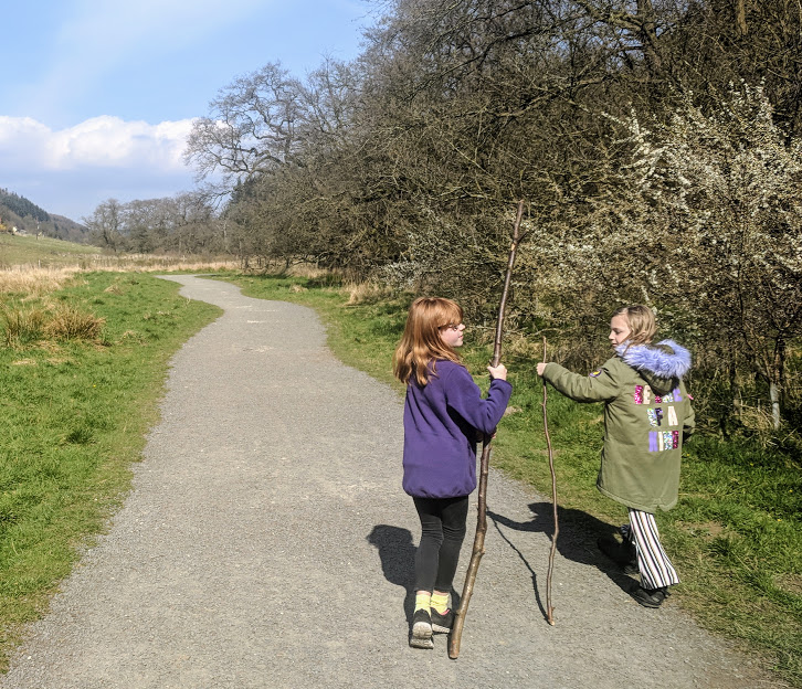 A Chilled Weekend Break with Friends & Tweens in North Yorkshire  - walking in Dalby Forest