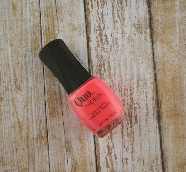 quo by orly summer 2016 pink bikini swatch nail polish