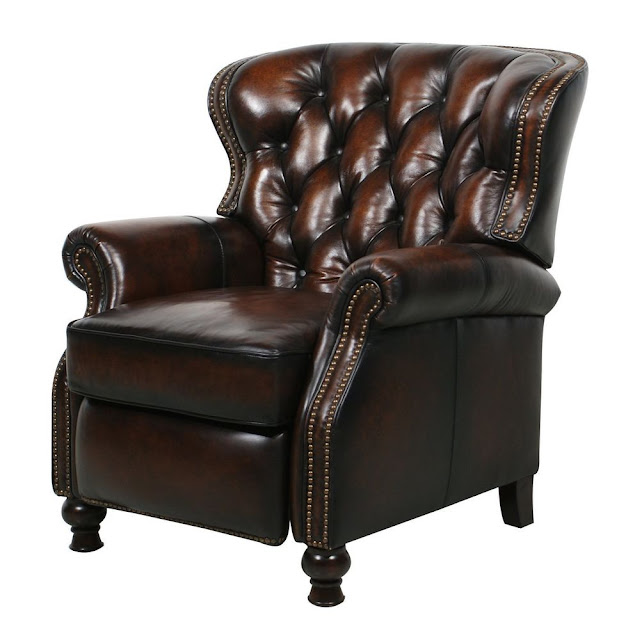 real leather recliner chairs