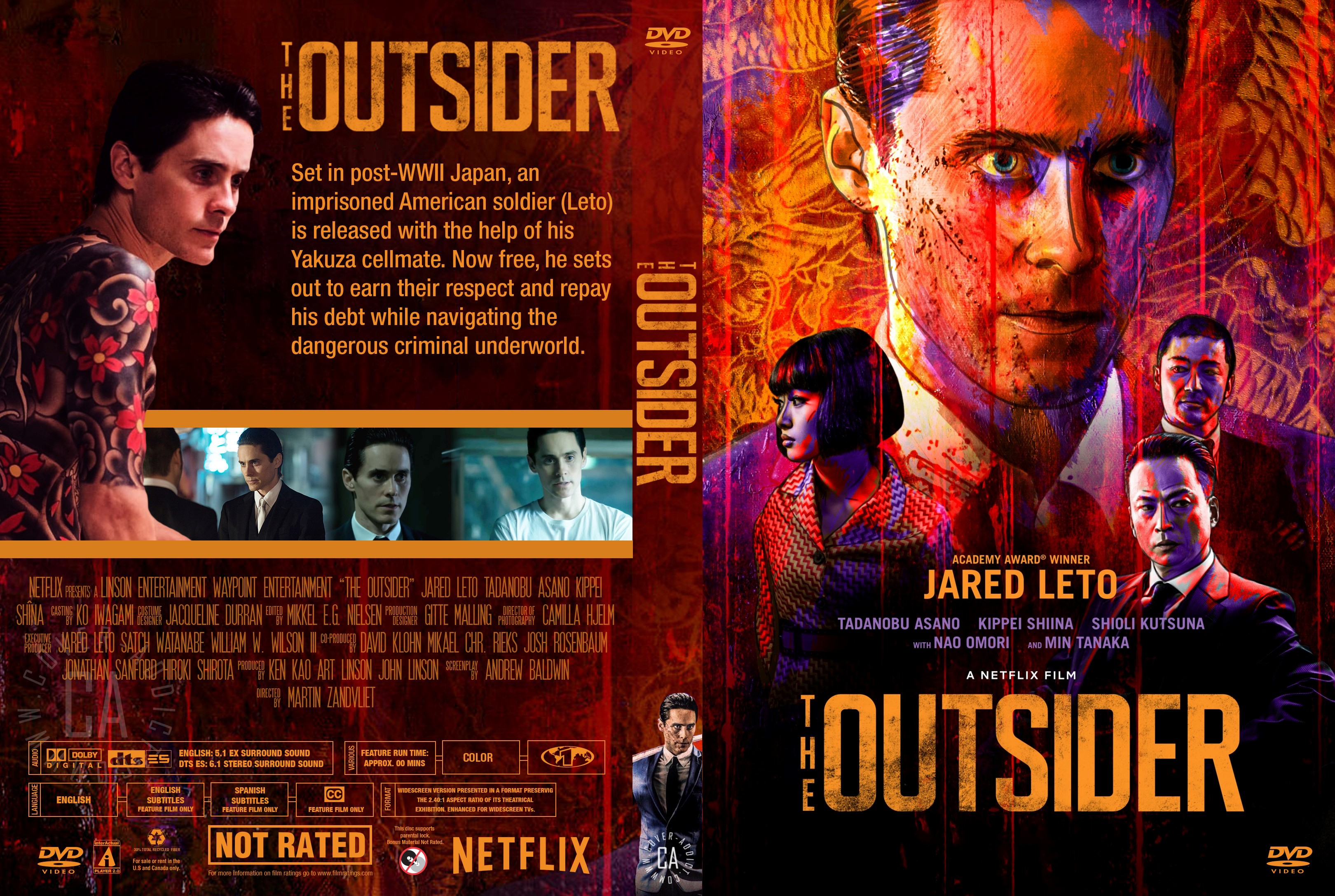 The Outsider Dvd Cover Cover Addict Free Dvd Bluray