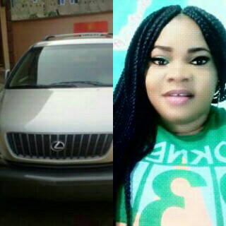 nollywood actress chichi gabriel new car