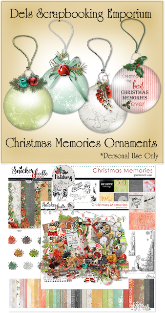 Christmas Memories Ornaments