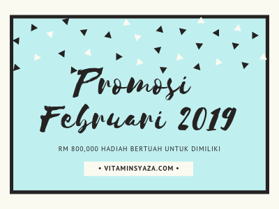 promosi shaklee februari 2019