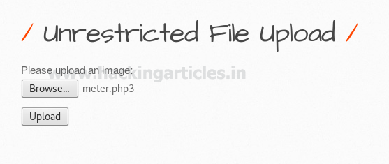 File Upload Exploitation in bWAPP (Bypass All Security)