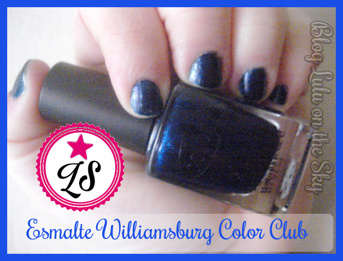 Esmalte Color Club Williamsburg - Océane Femme. - blog luluonthesky
